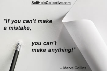 Inspirational business quote by Marva Collins