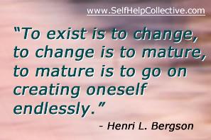 Self improvement advice image - inspirational quote