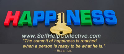 Happiness quotes image (Erasmus)