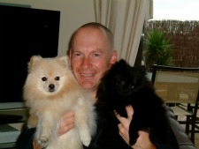 Me and my beautiful 2 kids, Casper and Missy