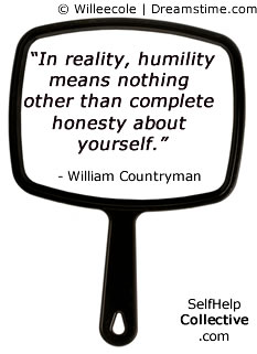 Humility quotes image - click to subscribe to Weekly Wonder newsletter...