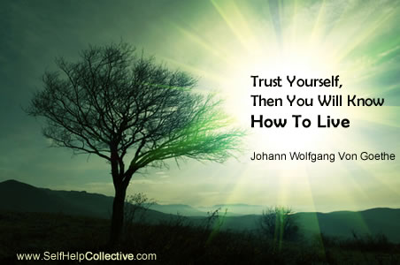Inspirational quotation from Johann Wolfgang Von Goethe