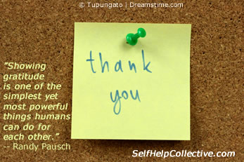 Show Gratitude (post-it note)