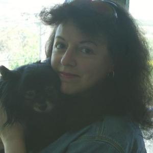 Marea with Dog