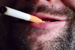 Quitting smoking is a very common new year resolution