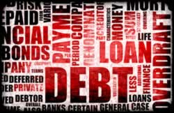 Reducing debt is a common new year resolution