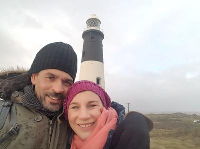 Selfie Steve (and Rachel) - Spurn Point (2017)